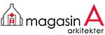 Logotyp för Magasin A arkitekter