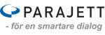 Logotyp för Parajett