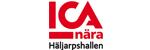 Logotyp för ICA Nära Häljarpshallen